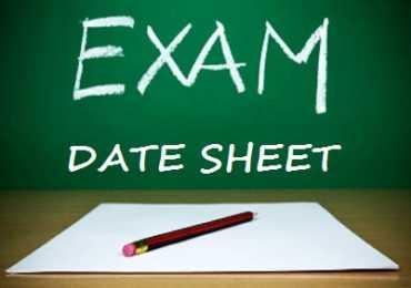 Matric Date Sheet 2017 All BISE Punjab Boards