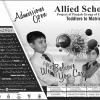 Allied School Admission 2018