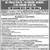 Peoples University Of Medical And Health Sciences For Women Admission 2018