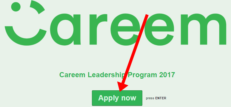 Careem Leadership Program 2017