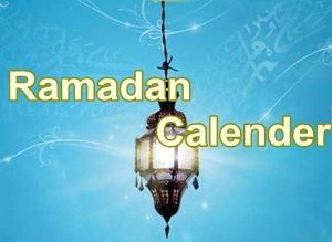 Ramadan Calender