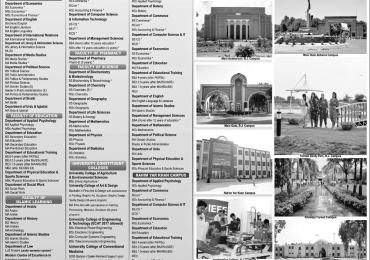 IUB Online Admission Forms Schedule Merit List Date 2018