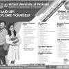 Virtual University Of Pakistan Admissions 2018