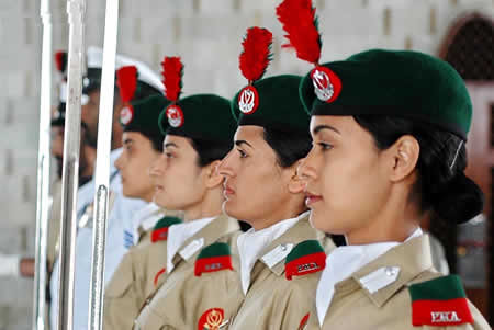 Defence Day, Forces, Pakistan, Women, Army