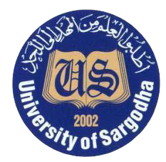 University of Sargodha Lahore Campus Admissions Fall 2018