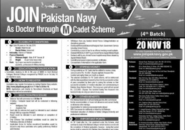 How To Join Pak Navy As Doctor Eligibility, Requirements