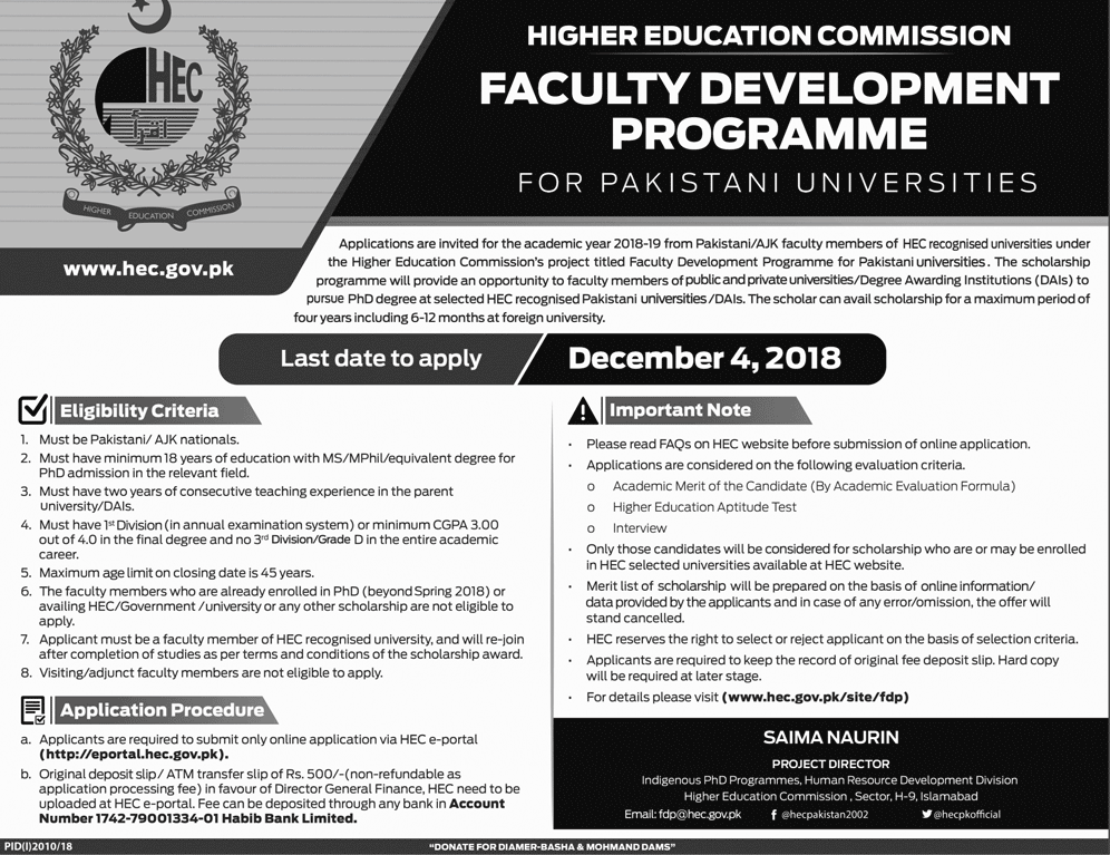HEC Faculty Development Program 2018