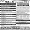 Sindh Agriculture University Tandojam Bachelor Admissions 2018-2019
