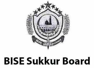 Sukkur Board Matric 9th, 10th Class Model Papers 2020