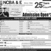 National College of Business Administration NCBA&E Lahore Spring Admission 2019