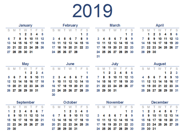 Pakistan Public Holidays 2019