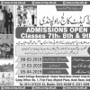 Cadet College Rawalpindi Admission 2019 Form, Test Result