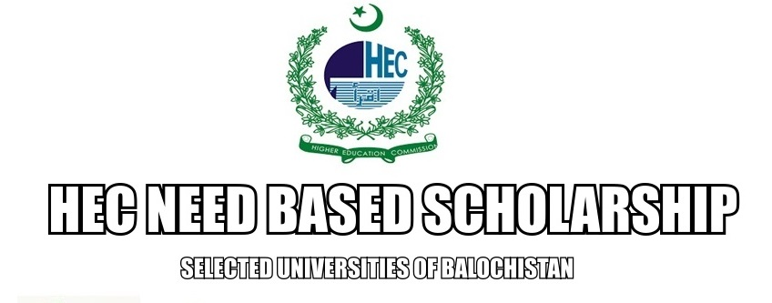 HEC Need Based Scholarship 2019 Application Form Online