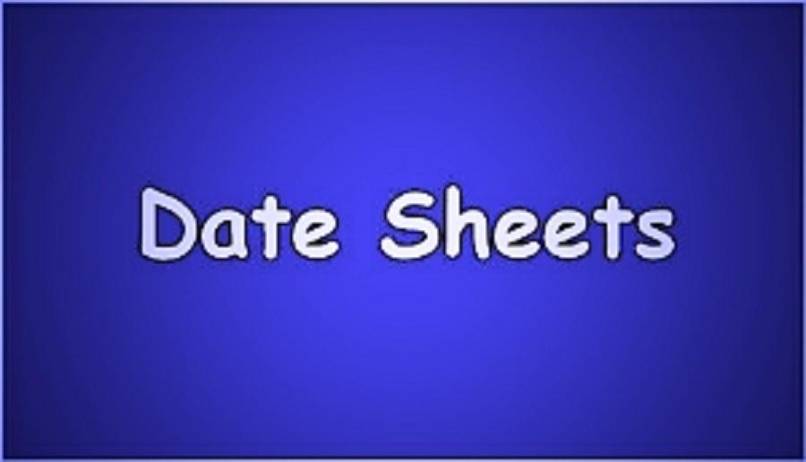 KPK Boards Matric Date Sheet 2020