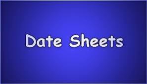 University of Sindh Date Sheet 2021