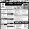 Pakistan Air Force Commission Jobs 2018 Online Registration