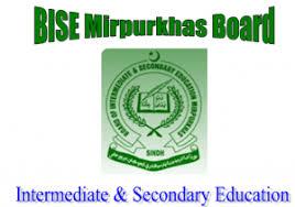 Mirpurkhas Board Date Sheet 2018 Matric, Inter Part 1, 2 Online