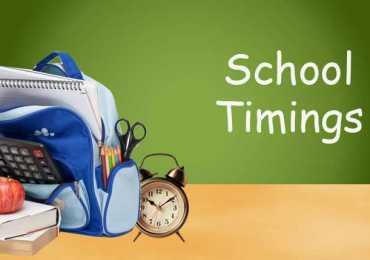 Punjab Government School Timings During Ramzan 2018