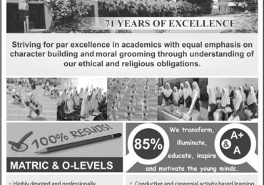 Adabistan E Soophia School Lahore Admission 2018 Fee Structure