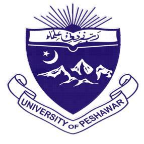 Peshawar University Private MA Subjects List