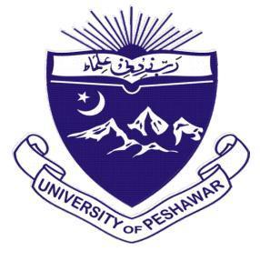 Peshawar University Private MA Subjects List