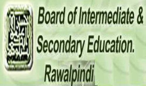 Rawalpindi Board Inter Date Sheet 2019 11th, 12th Class