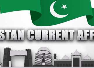 Current Affairs Of Pakistan 2018 MCQ With Answers PDF