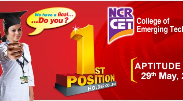 NCR CET College Karachi Admission 2019