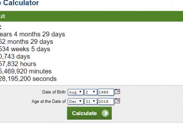Age Calculator For CSS 2020 Eligibility Criteria