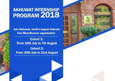 Akhuwat Internship 2019 www.akhuwat.org.pk Application Form