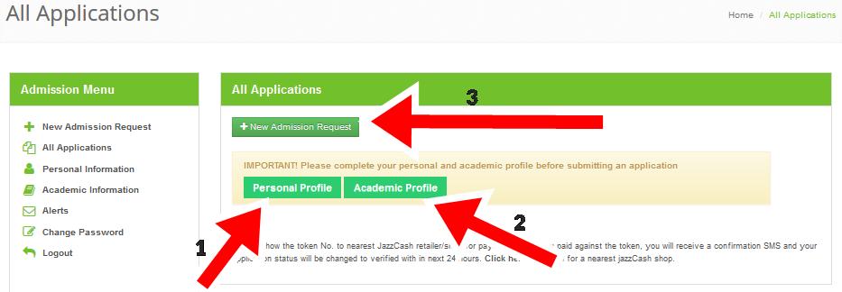 KPK Colleges Online Admission 2018