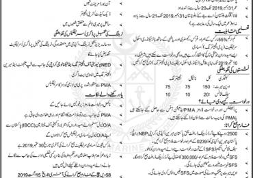 Pakistan Marine Academy Entry Test Sample Paper, Preparation Online