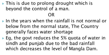 Water Crisis In Pakistan Causes And Solutions