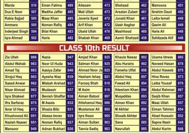 The Muslim Education System Peshawar Admission 2018 for FA, FSC
