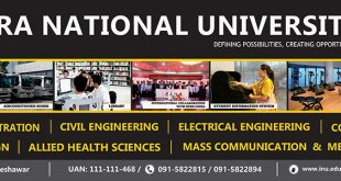 Iqra National University Peshawar Admission 2019