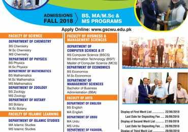 Govt Sadiq College Women University Bahawalpur GSCWU Admission 2021 Form Online Apply