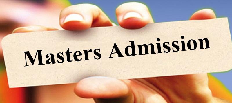 Masters Admissions 2019 Pakistan