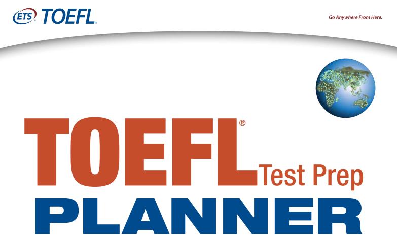 TOEFL Exam Pattern and Syllabus 2018