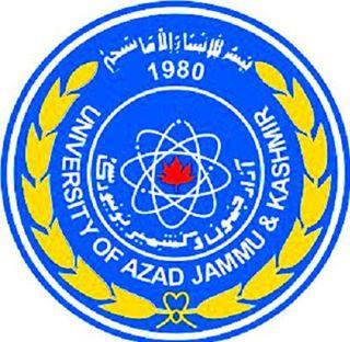 AJK University Admission 2019
