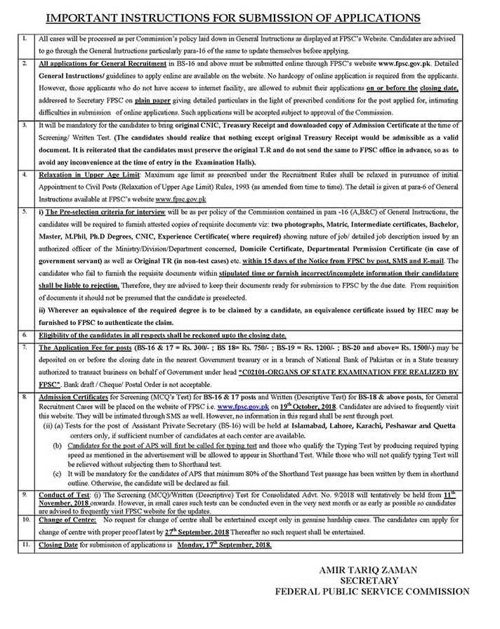 FPSC Secondary School Teacher SST Jobs 2018 Male, Female Apply Online Advertisement