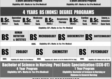 Gulab Devi Medical Institute BSc Admission 2020 Form