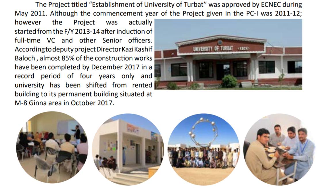 University of Turbat BA, BSc Result