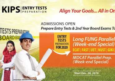 KIPS Entry Test Preparation 2020