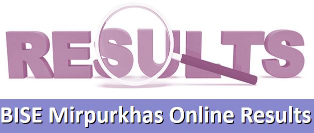 Mirpurkhas Board 10th, 9th Class Result 2020 Online