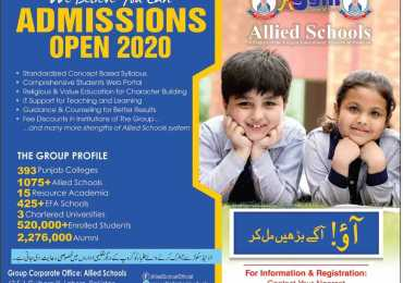 Allied School Admission 2020
