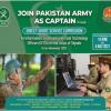 Join Pak Army As Captain 2021 Registration Online Through Short Service Commission