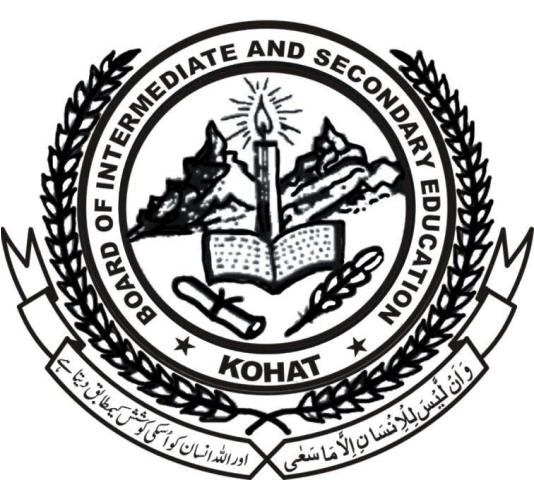 Kohat Board Inter Date Sheet 2020 1st Year, 2nd Year