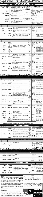 Punjab Public Service Commission PPSC Jobs March 2019 Advertisement