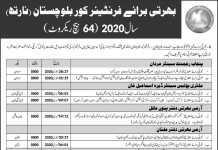 Frontier Corps FC Balochistan Jobs 2020