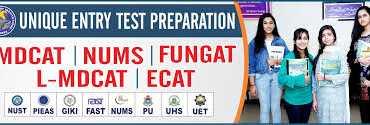 Unique College Entry Test Preparation Admission 2020